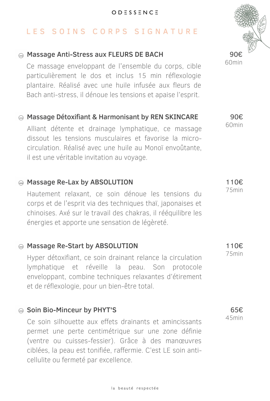 Soins corps Phyt's - REN cleanskincare - Absolution - Odessence - Beauté naturelle & bio à Bordeaux